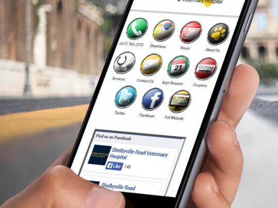 Vet Mobile Site
