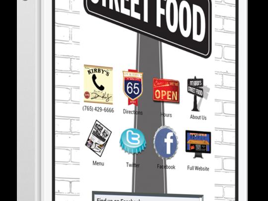 Mobile Website for Tavern