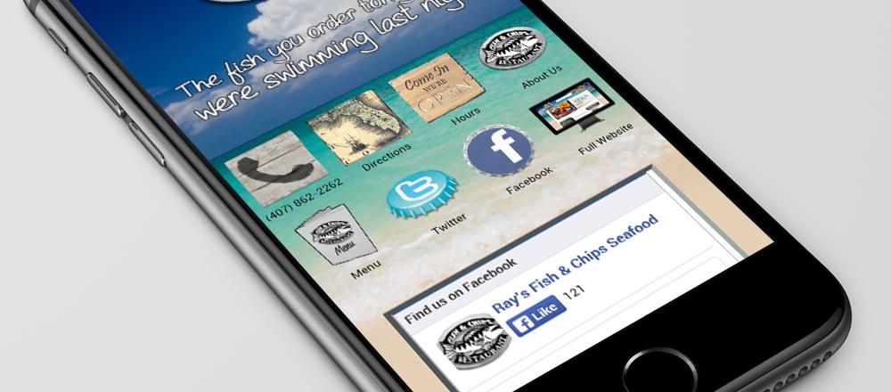 Seafood Mobile Site