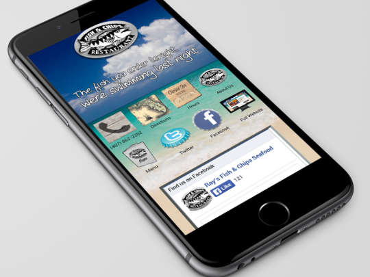 Seafood Mobile Site