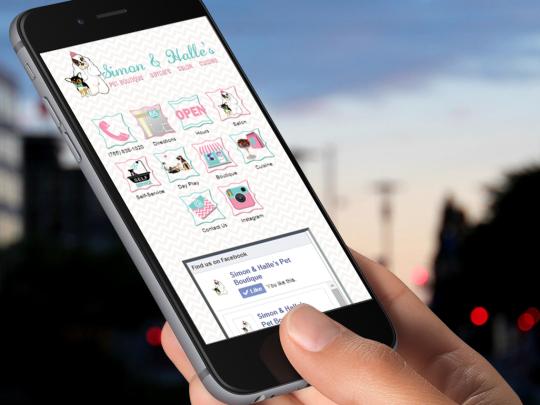 Pet Groomer Mobile Optimized